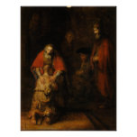 Return of the Prodigal Son by Rembrandt van Rijn Poster