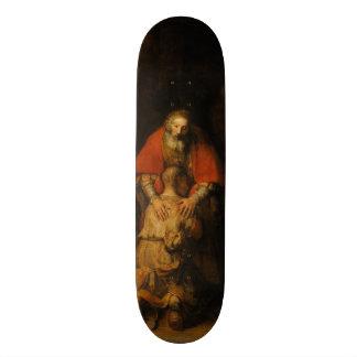 Return of the Prodigal Son by Rembrandt van Rijn Skate Board Decks