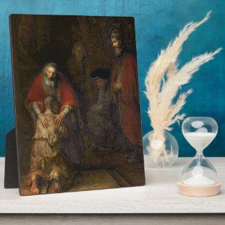Return of the Prodigal Son, c.1668-69 Plaque