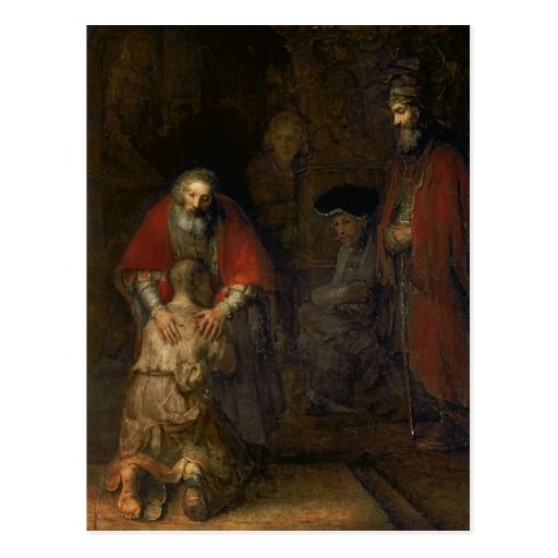 Return of the Prodigal Son, c.1668-69 Postcards