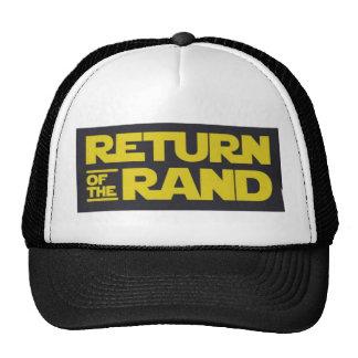 RETURN OF THE RAND CAP TRUCKER HAT