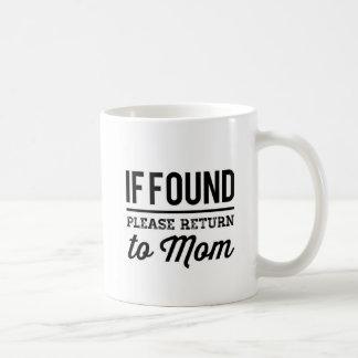 Return to Mom Coffee Mug