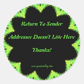 Return To Sender Sticker