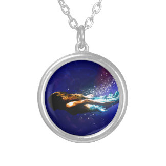 Return to the Sea Silver Plated Necklace