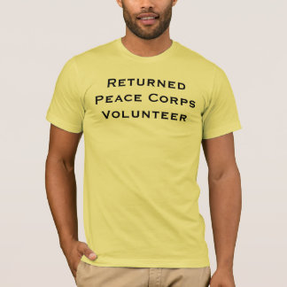 Returned Peace Corps Volunteer T-Shirt