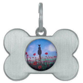 Returning to the Poppies Pet ID Tags