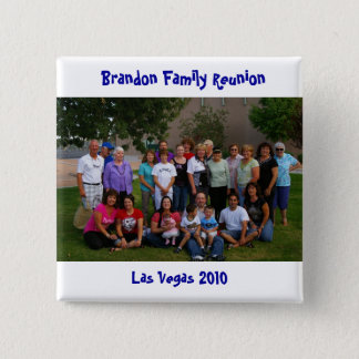 Reunion 2010 2 inch square button