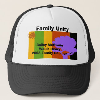 Reunion, Bailey-McSwainWalsh-Henry... - Customized Trucker Hat