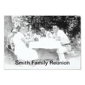 Reunion Dinner Picture Invitation