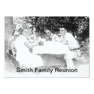 Reunion Dinner Picture Invitation
