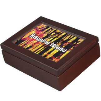 Reunion Island Keepsake Box