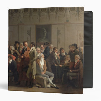 Reunion of Artists in the Studio of Isabey, 1798 3 Ring Binder