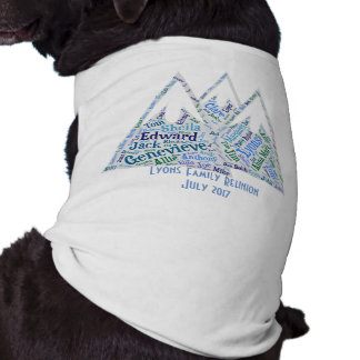 Reunion Shirts for the Dog