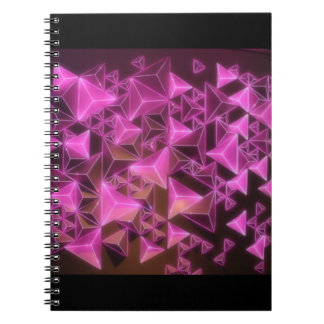 Reunion Tower Pink Lights Spiral Notebook