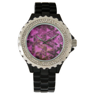 Reunion Tower Pink Lights Women's Watch