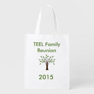 Reusable Bag - FAMILY REUNION Reusable Grocery Bags