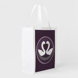 Reusable Bag LOVE SWANS