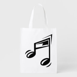 Reusable Bag Musical Notes