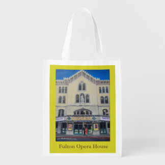 Reusable bag with Fulton Opera House