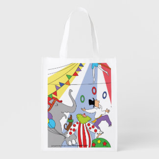 Reusable Circus Grocery Bag