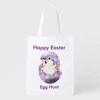 Reusable Easter Egg Hunting Bag Market Totes