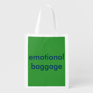 Reusable folding bag - Emotional Baggage