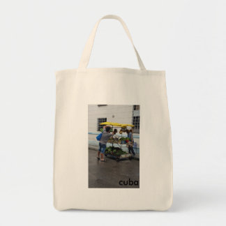 Reusable Grocery Tote (Cuban Produce Cart)