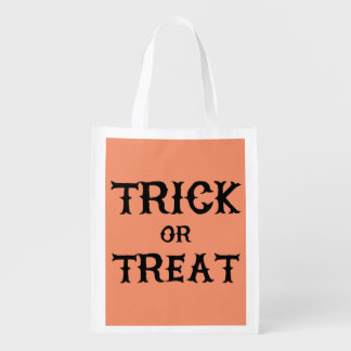 Reusable Halloween Tote Bag (Trick or Treat) Market Totes