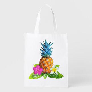 Reusable Pineapple Tote Bags
