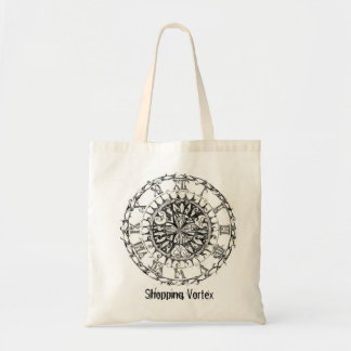 Reusable Shopping Bag with Time Vortex