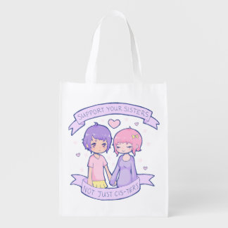 Reusable Support Your Sisters Bag