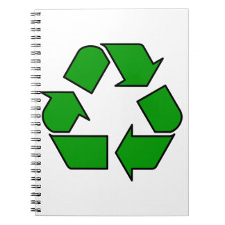 Reuse & Recycle Spiral Notebook