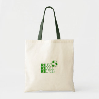 reuse reduce recycle tote bag