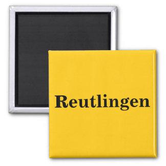 Reutlingen magnet sign gold Gleb