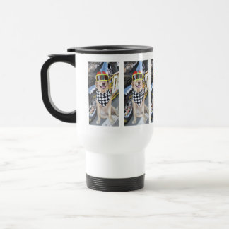 Rev 'em up! travel mug