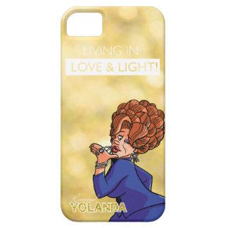 Rev. Yolanda - Living in Love & Light iPhone 5 Cover