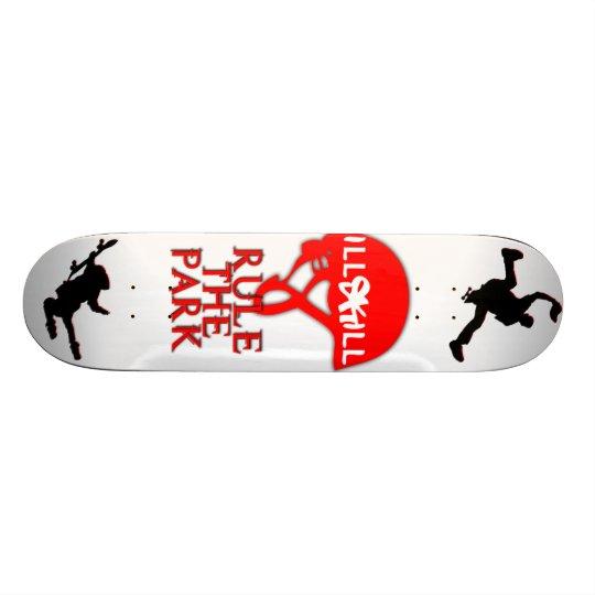Revamped Comp Board ILLskILL Skateboard Deck