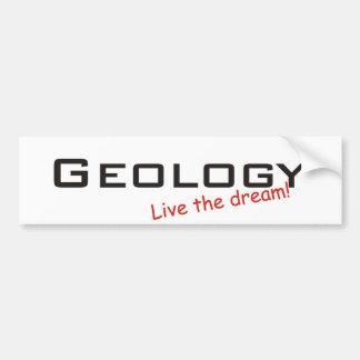 Rêve/géologie Autocollant De Voiture
