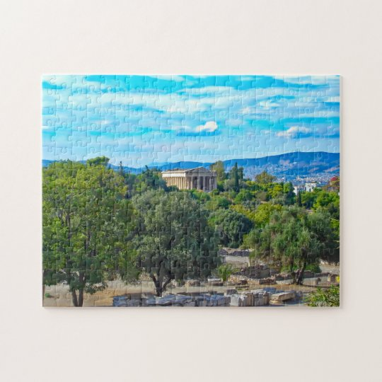 Reveal Greece Puzzle - The Temple of Hephaestus