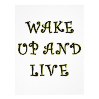 Réveillez-vous et vivez tract customisé