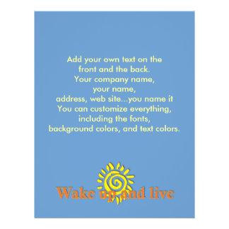 Réveillez-vous et vivez prospectus