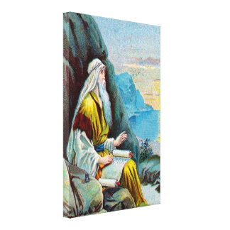 Revelation 1 Things Which Must Happen Soon Canvas Print