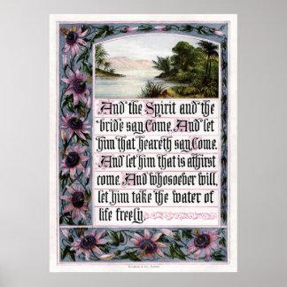 Revelation 22:17 Print