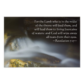 Revelation 7:17 poster