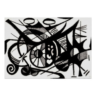 Revelation Abstract Poster