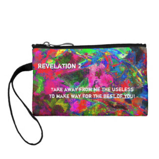 Revelation Chapter 2 Coin Purse