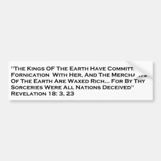 Revelation/City of Babylon Bumper Sticker