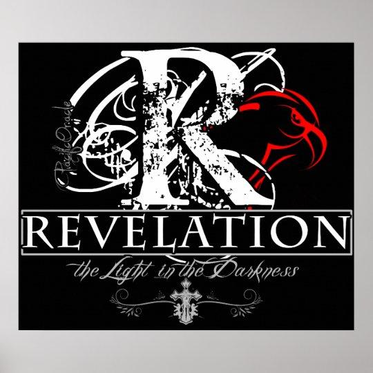 REVELATION poster and framed-artwork