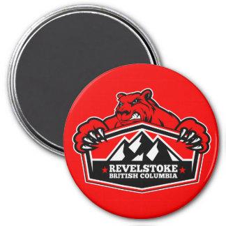 Revelstoke Red Bear Magnet