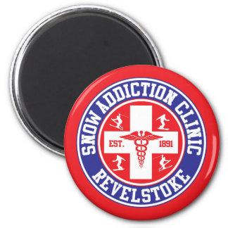 Revelstoke Snow Addiction Clinic Magnet